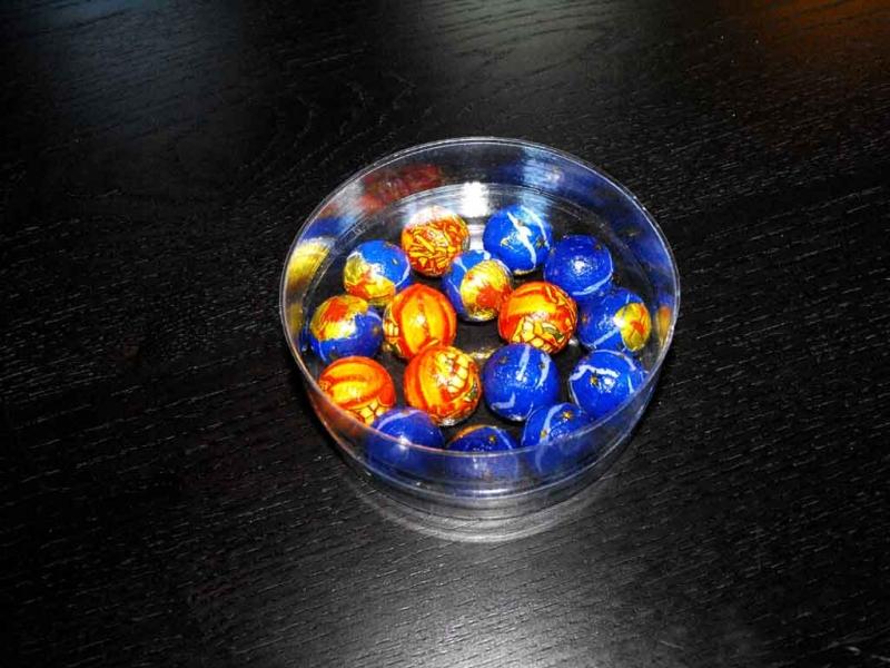 Ambalaje cilindrice pentru bomboane