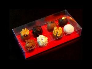 Cutii pentru praline cutii cu chese bomboane Cutii cu chese bomboane chesa plastic 4 praline 574 1