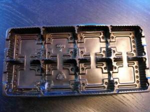 Chese pentru biscuiti chese biscuiti opt alveole Chese biscuiti opt alveole chesa plastic biscuiti ciocolata cu 8 alveole 619 1 300x225
