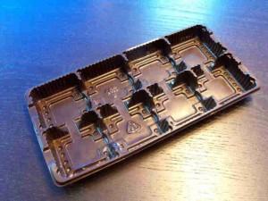 Chese cu opt alveole pentru biscuiti chese biscuiti opt alveole Chese biscuiti opt alveole chesa plastic biscuiti ciocolata cu 8 alveole 619 2 300x225
