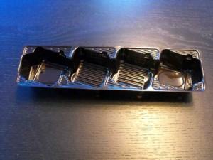 Chese cu patru alveole pentru biscuiti chese biscuiti patru alveole Chese biscuiti patru alveole chesa plastic fursecuri biscuiti cu 4 alveole inclinate 618 1 300x225