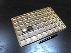 chese pentru bomboane chese aurii 54 praline Chese aurii 54 praline chese aurii pentru 54 praline 1549 1 300x225