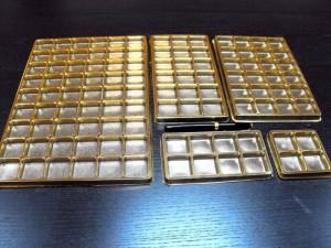 Ambalaje pentru bomboane chese aurii 8 bomboane Chese aurii 8 bomboane chese aurii pentru 54 praline 1549 21 300x225