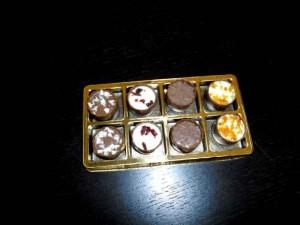 Chese pentru bomboane chese aurii 8 bomboane Chese aurii 8 bomboane chese aurii pentru 8 praline 1417 4 300x225