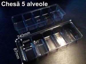 Chese pentru biscuiti chese biscuiti cinci alveole Chese biscuiti cinci alveole chese compartimentate biscuiti ciocolata 1151 3 300x225