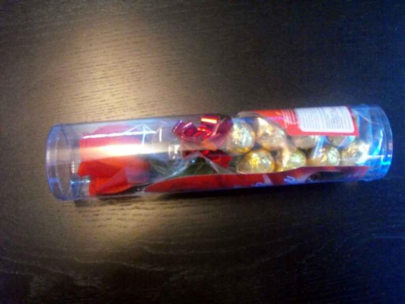 cutii cilindrice bomboane