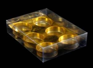 Cutii pentru bomboane cutii cu chesa bomboane Cutii cu chesa bomboane cutie plastic chesa aurie 704 1 1 300x221