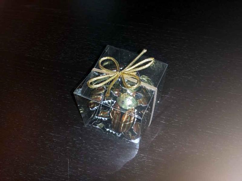 cutii figurine ciocolata