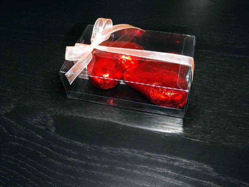 cutii plastic ciocolata