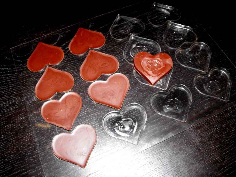 forme ciocolata inima