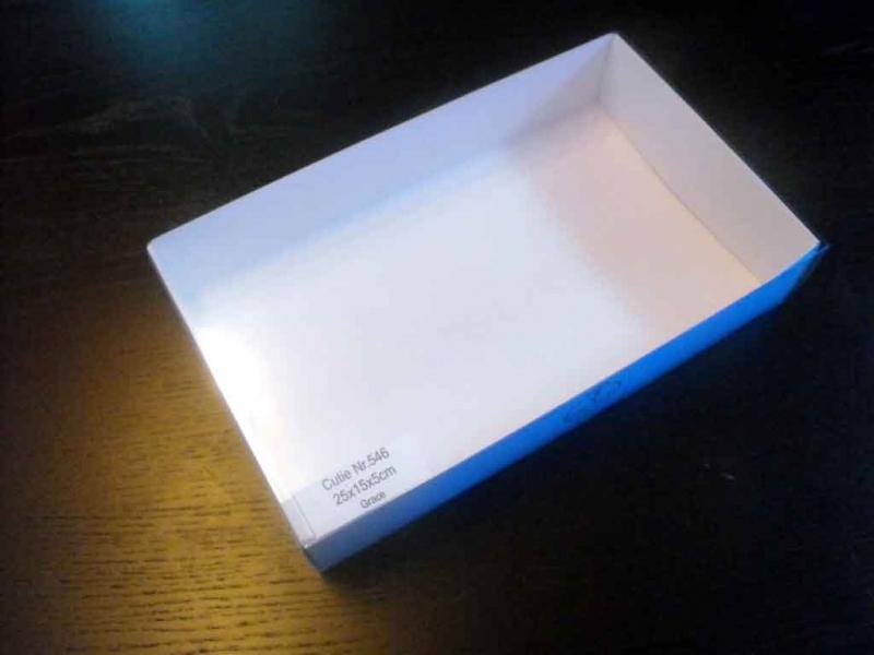cutii carton macarons