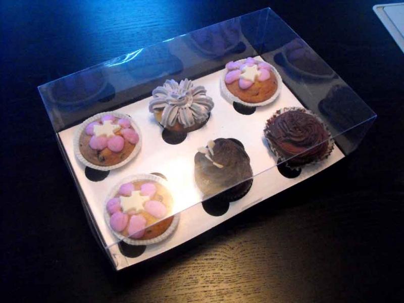 cutii plastic muffins