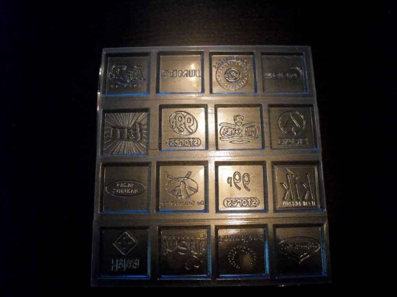 forme tablete ciocolata personalizate