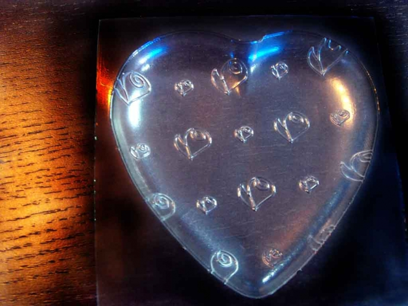 forme ciocolata model inima