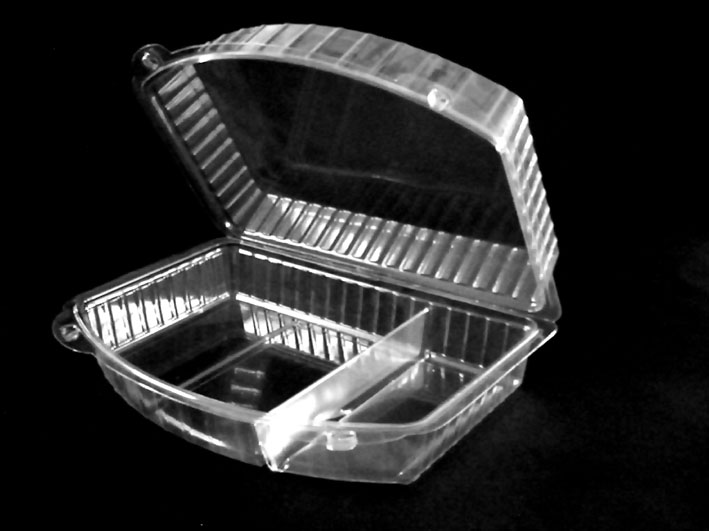 Ambalaje pvc / pet inghetata casoleta compartimentata Casoleta compartimentata model ELEGANCE ambalaje pvc pet inghetata