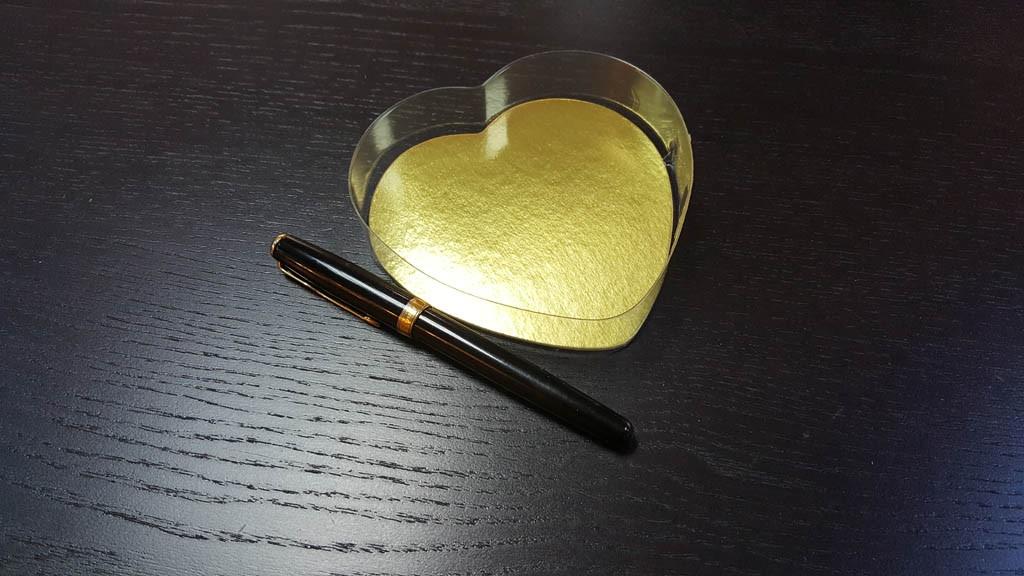Caserola in forma de inima pentru bomboane - 2