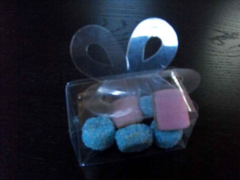 Cutiute plastic bomboane