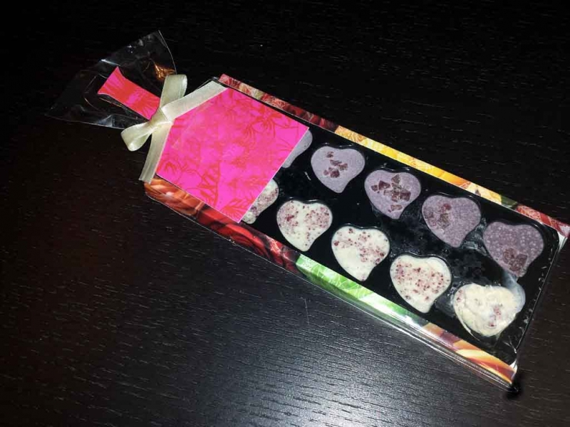 ambalaje ciocolata inimioare