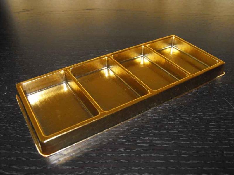 Ambalaje ciocolata chese aurii ciocolata Chese aurii ciocolata chese aurii cu patru compartimente 1572 3