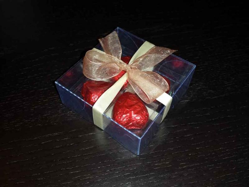 cutiute inimioare ciocolata