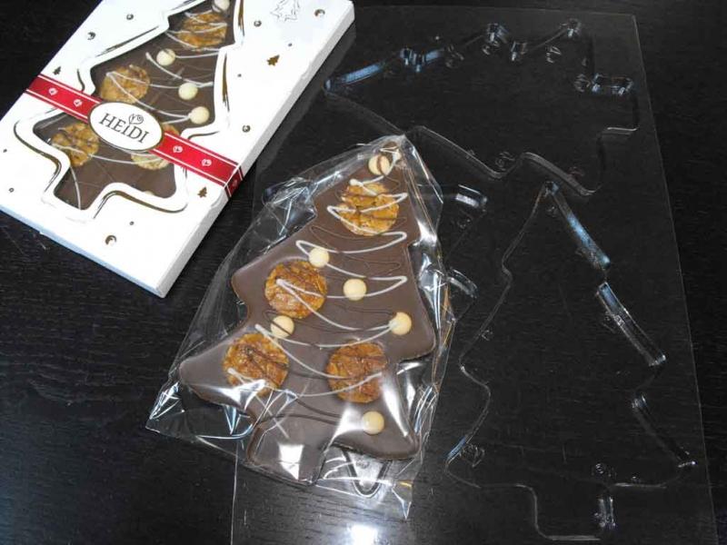 Forme ciocolata model bradut