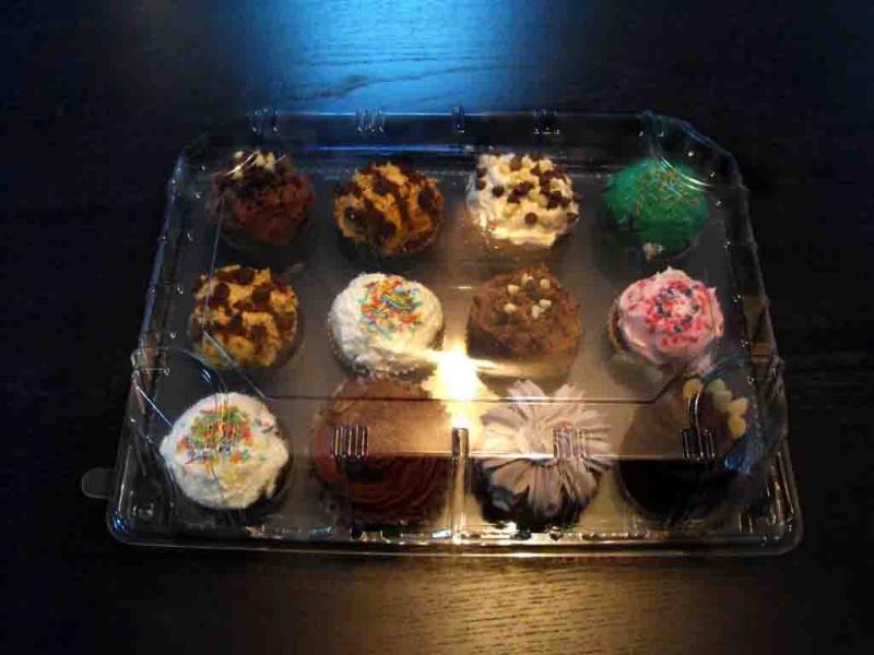 Tavi pentru transport cupcakes