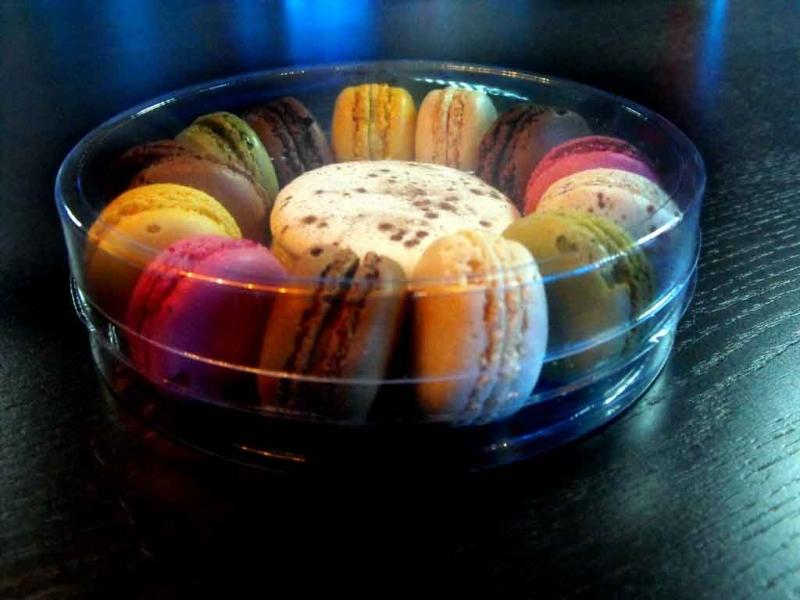 ambalaje rotunde macarons