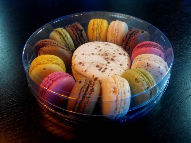 Ambalaje rotunde pentru Macarons