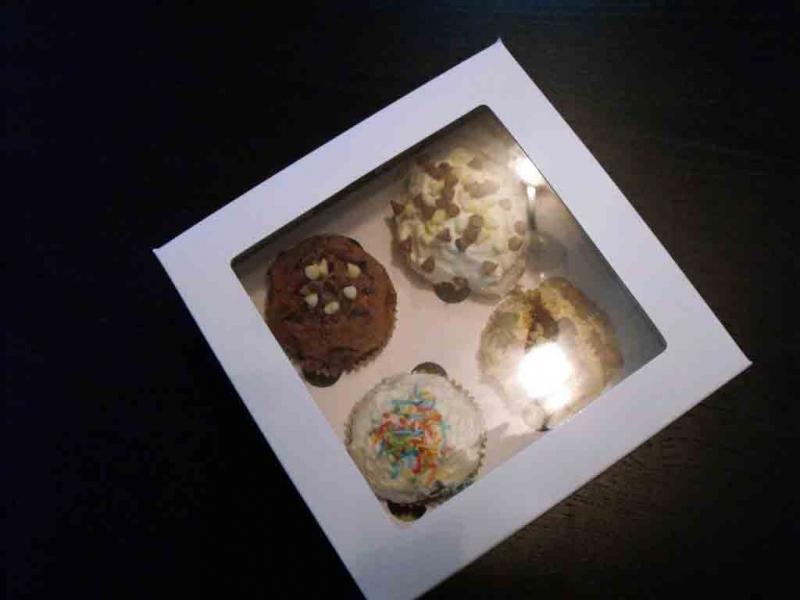 Cutii patru muffins