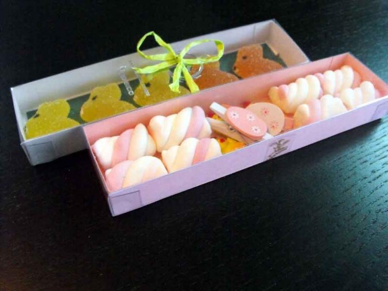 Cutii pentru marshmallow