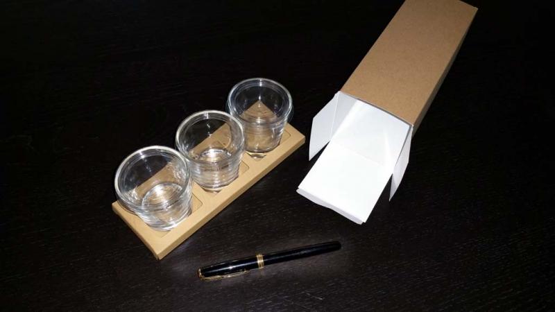 cutii cu insert cutii cu insert Cutii cu insert borcanele cutie cu suport pentru 3 borcanele 1632 4