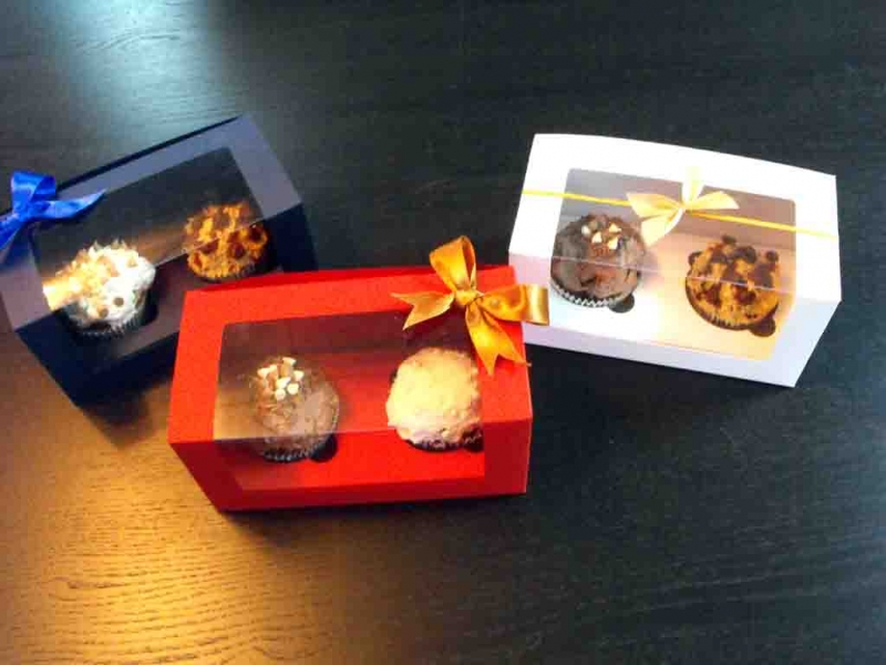 cutii carton cupcakes si muffins