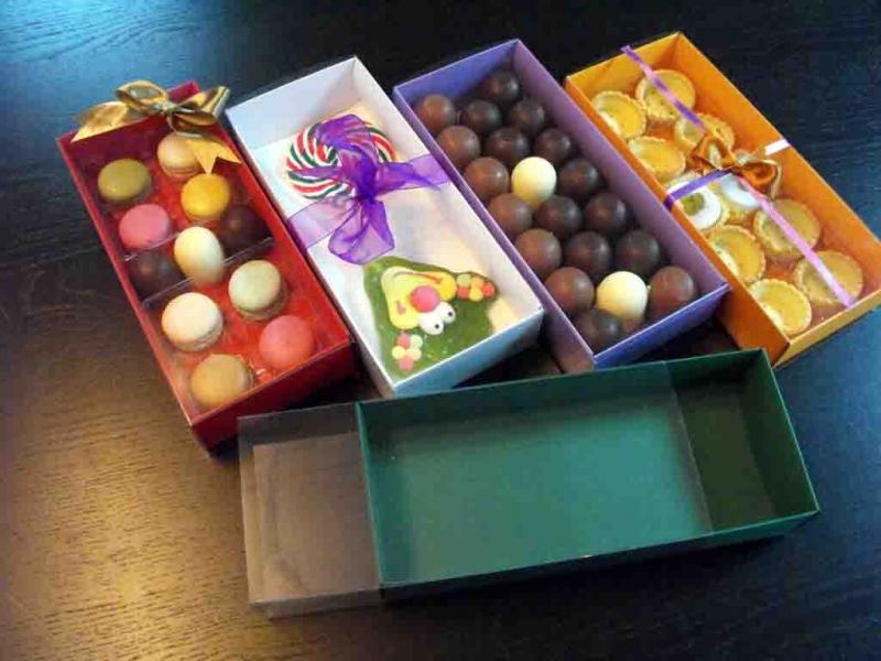Cutii pentru figurine marshmalllow