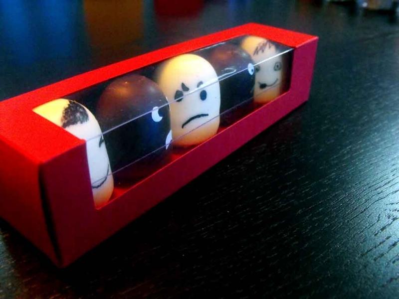 Cutii cu fereastra pentru marshmallow