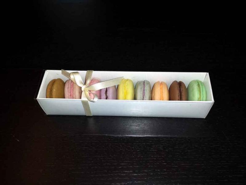 cutii carton 9 Macarons