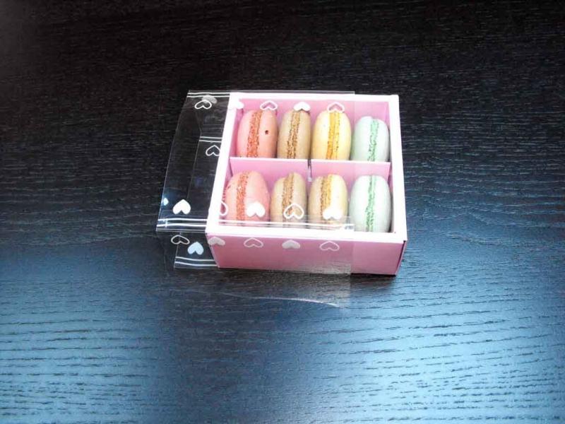 cutii compartimentate macarons