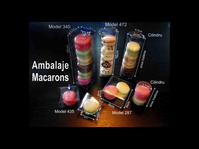 Cutii cilindrice Macarons