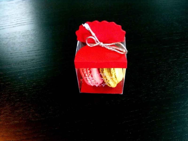 cutiute macarons marturii de nunta