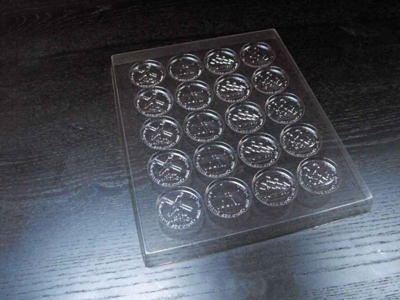 Sablon tablete din ciocolata