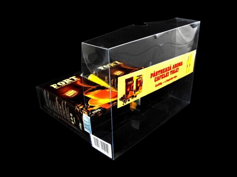 Cutii plastic transparent