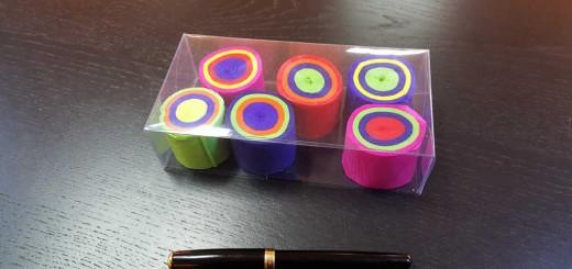 Cutie din plastic transparent pentru prajituri