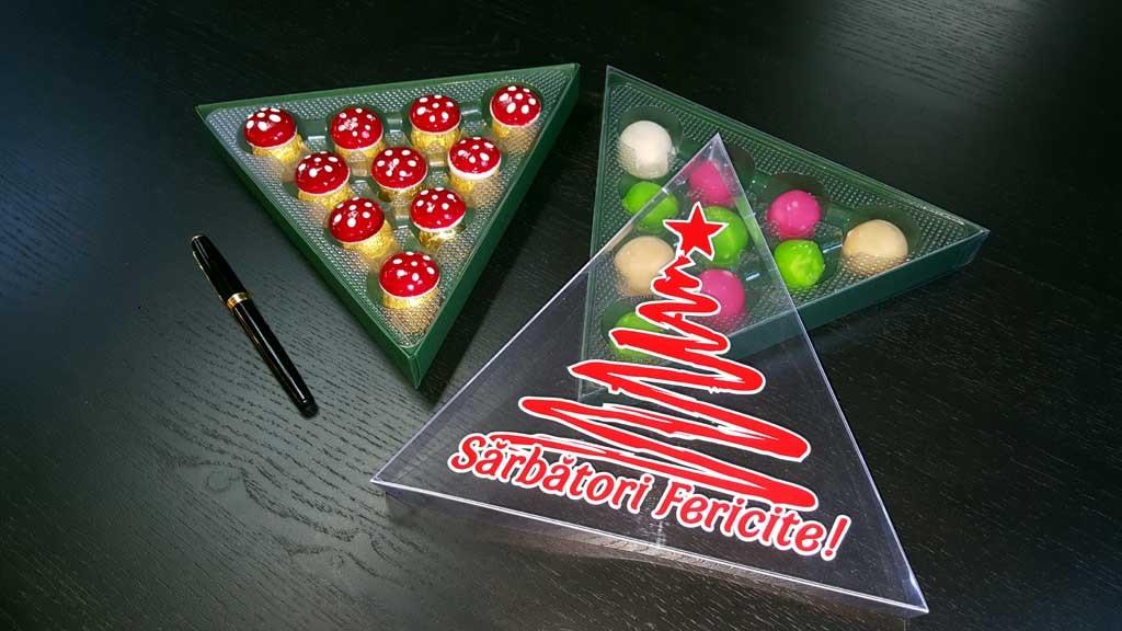 Cutii speciale pentru bomboane