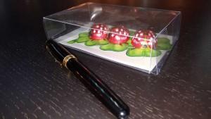 cutie din plastic transparent Cutie din plastic transparent pentru figurine din ciocolata 555 4 300x169