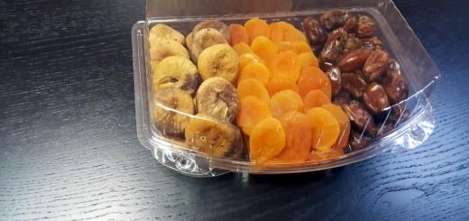 Caserola cu 3 compartimente caserola cu 3 compartimente Caserola cu 3 compartimente pentru fructe uscate si seminte (model Elegance 4121) 1 5 520x245