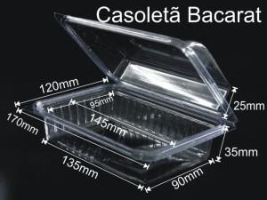 caserola cu capac din plastic transparent Caserola cu capac din plastic transparent pentru fructe uscate (model 4097) 9 300x225