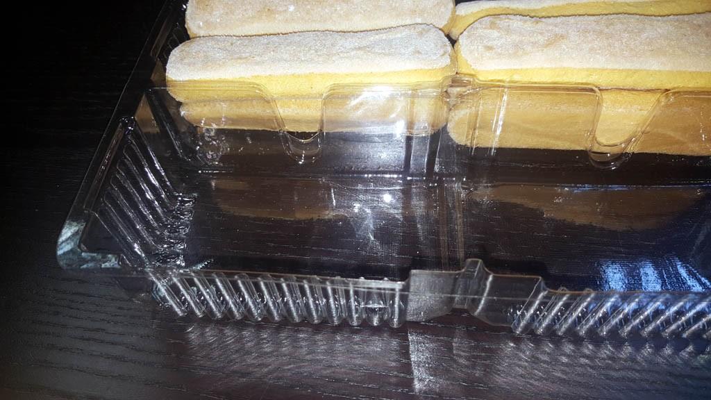 Caserola cu 2 compartimente pentru piscoturi - 4