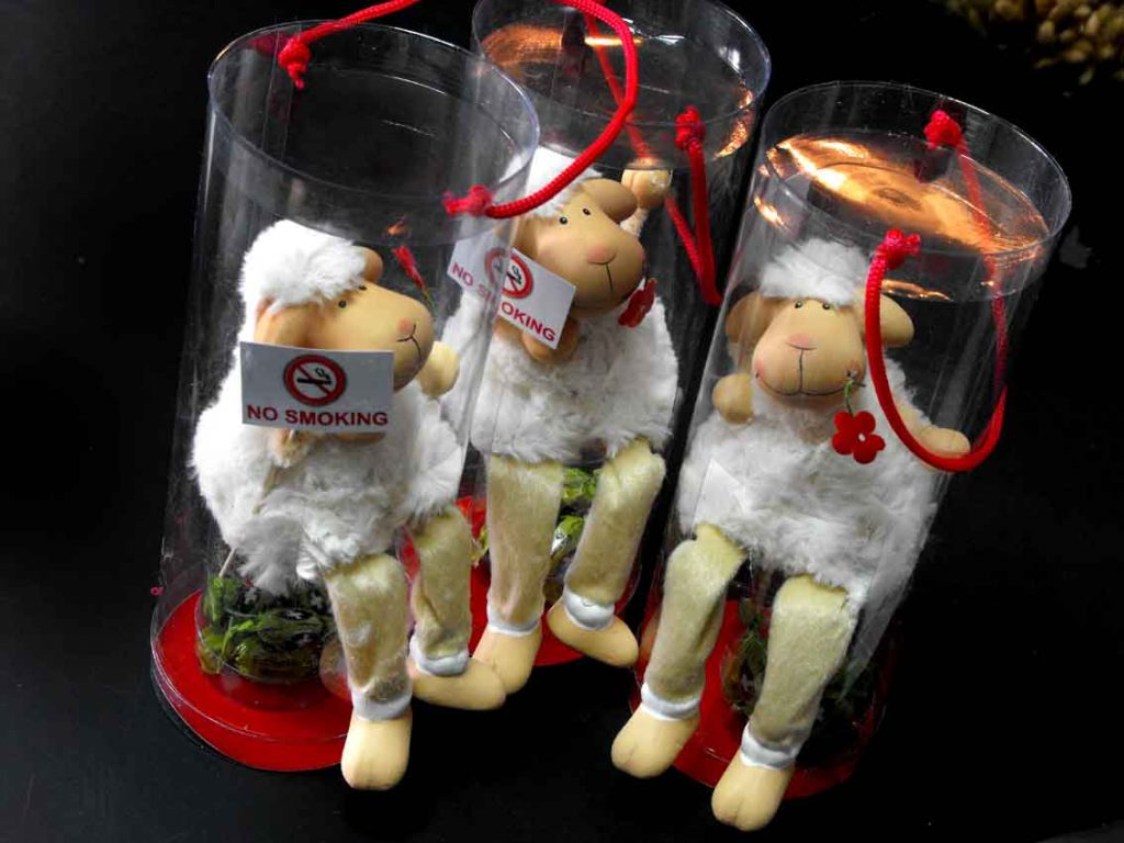 cutie cilindrica cu niste oi